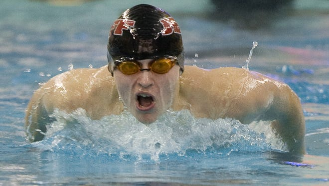 Lafayette Jeff's Zack Crampton is the top seed in the 100-yard butterfly and the No. 2 seed in the IM for the Zionsville Sectional.