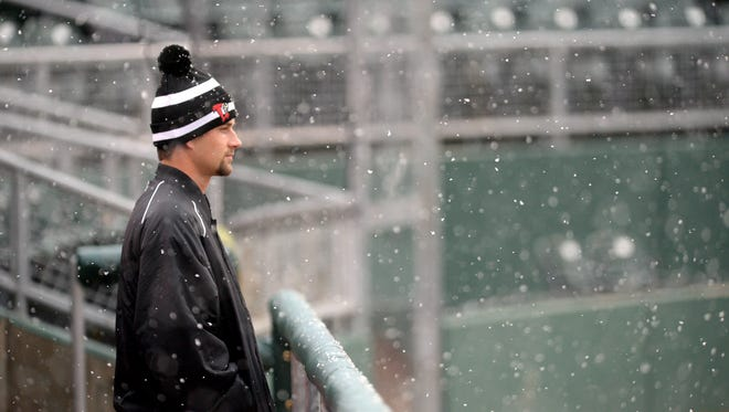 Inclement weather forced the postponement of the Lansing Lugnuts' first two games. More cold and snow is expected this weekend.