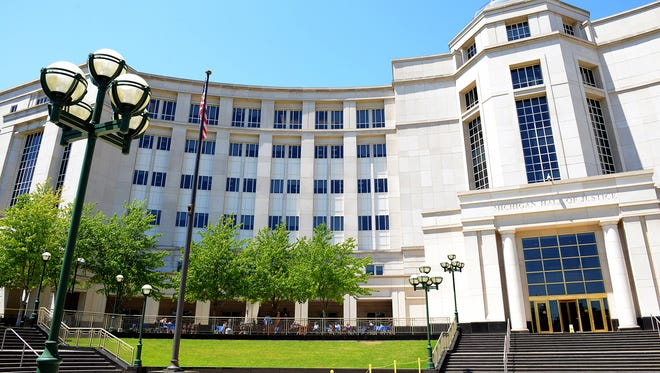 The Michigan Hall of Justice, home to the Michigan Supreme Court and Michigan Court of Appeals, is seen in this June 24, 2016 LSJ file photo.