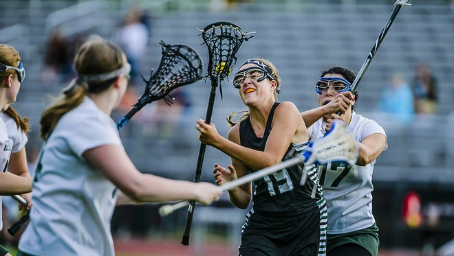Reagan Russell, 19, of Haslett/Williamston is one of the top goal scorers in the Lansing area.