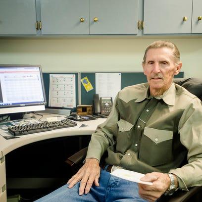 Dallas Mitchell, the longest tenured city employee,