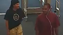 Gloucester Township police are seeking these men in connection with the alleged shoplifting of DVDs worth more than $100 at a Target store.