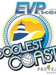 EVP Coolest Coast Beach Volleyball Tournament logo
