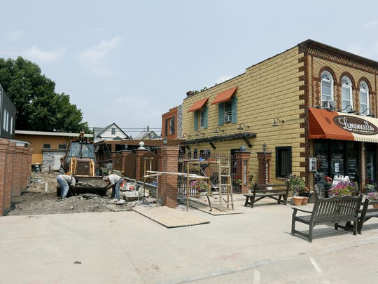 Lemoncello in East Rochester is adding a patio area.