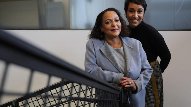 Cheryl Mayberry McKissack, left, and Desiree Rogers are the new chiefs of Fashion Fair Cosmetics, a legacy makeup brand geared toward women of color. In an interview on CNN, Rogers said Black people are less likely to be in jobs that allow them to work from home. That's True.