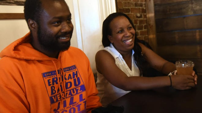 Clifton West Jr. and Tanisha Johnson are the founding members of Black Lives Matter Seacoast chapter.