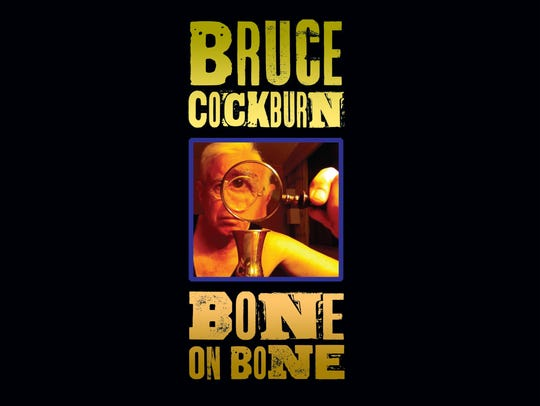 "The CD cover for ""Bone on Bone"" by Bruce Cockburn."