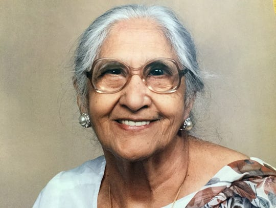 Damyanti Gupta's mother, Gopi Hingorani, saved money