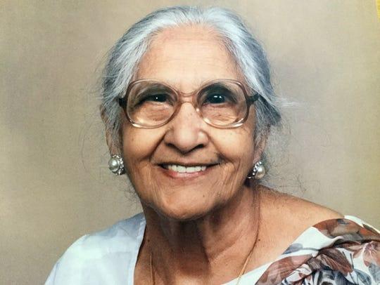 Damyanti Gupta's mother, Gopi Hingorani, saved money
