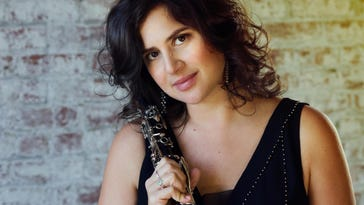 Anat Cohen will perform at Detroit's Carr Center on Saturday for a concert kicking off a week of activities as Michigan State University's Jazz Artist-in-Residence.