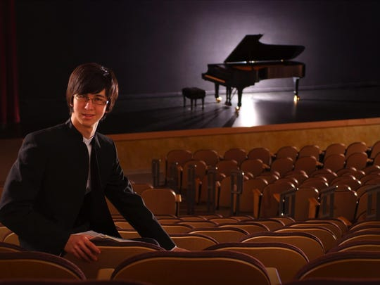 Pianist Charlie Albright performs April 3 at the Howland Cultural Center in Beacon. Part of the Howland Chamber Music Circle piano festival series.