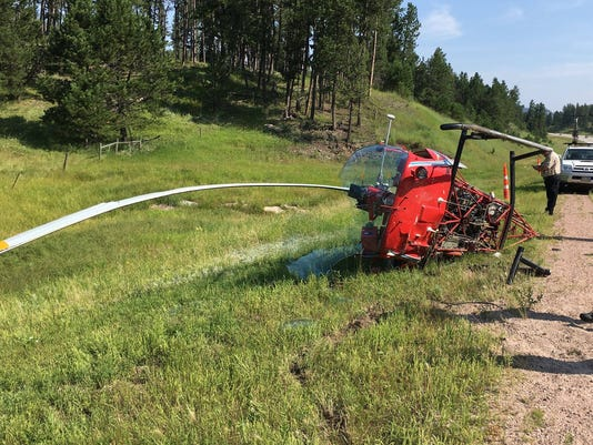 Custer helicopter crash