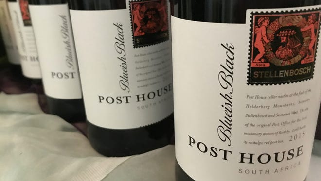 Wines from Post House, a vintner from South Africa.