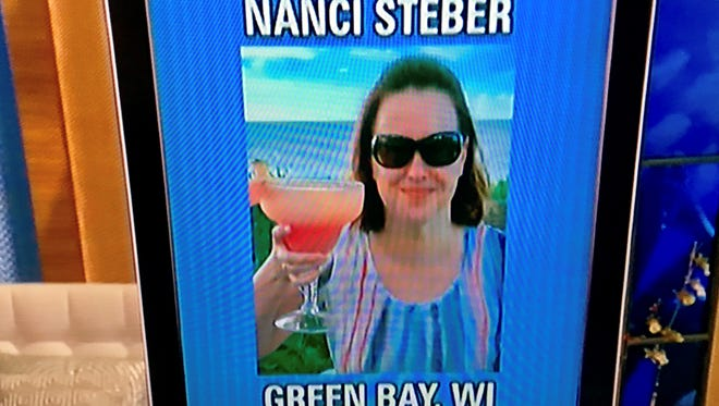 """Nanci Steber of Green Bay won a seven-day stay at Pineapple Beach Club in Antigua on Thursday's """"Live with Kelly and Ryan."""""""