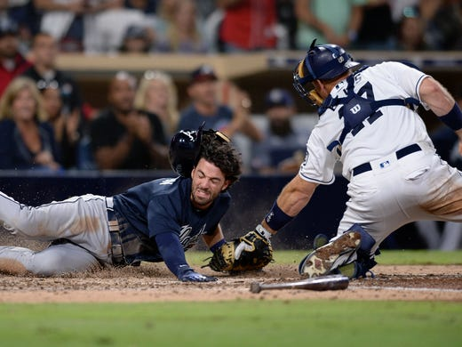 dansby swanson to start for braves at shortstop wednesday