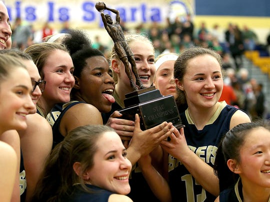 Susquehanna Valley players celebrate following their