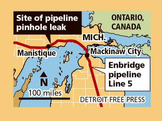 Pinhole leak' in U P  gas pipeline raises Straits fears