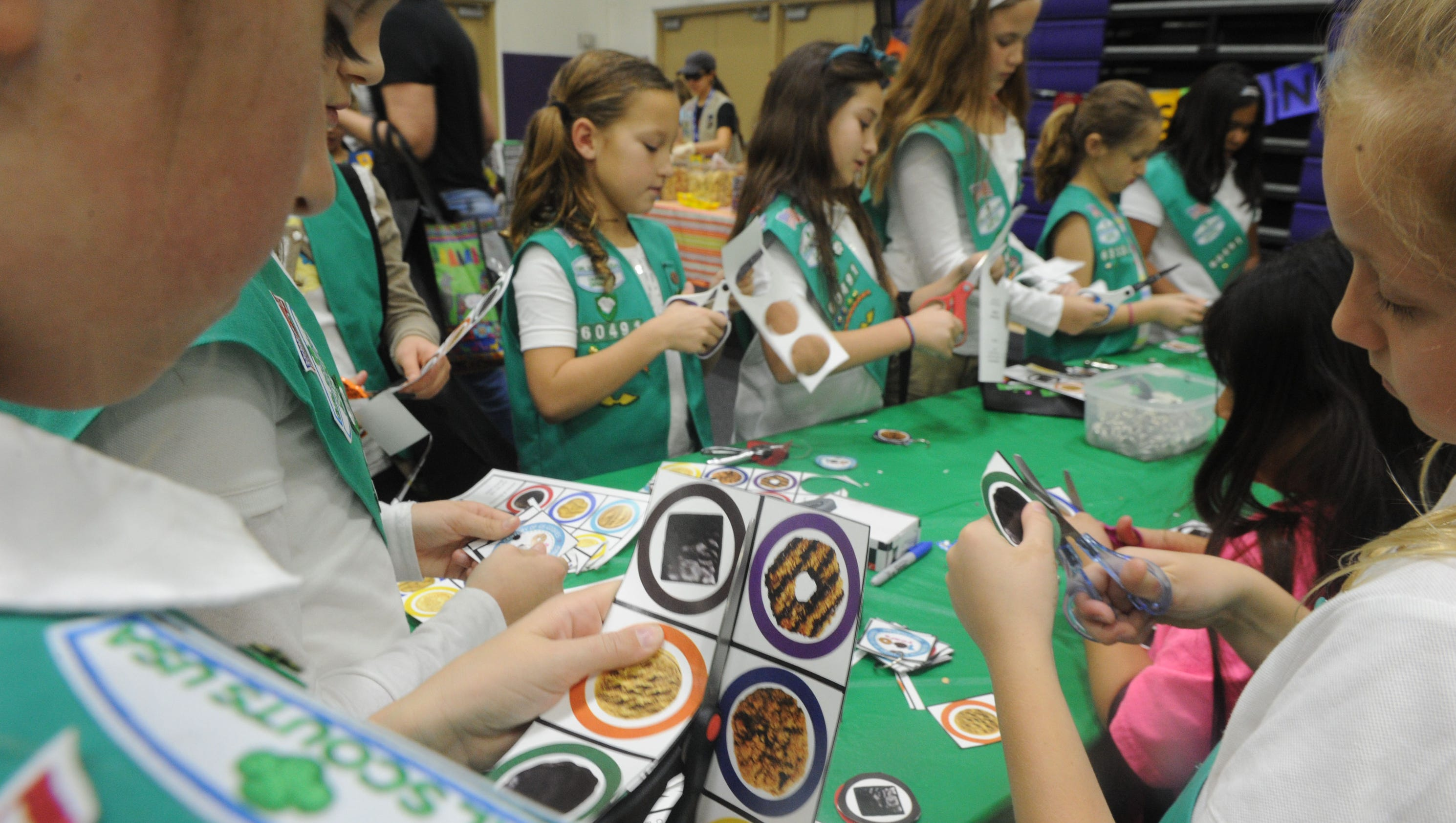 girl scout s mores get a thumbs up in ventura county
