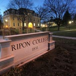 The Entrance to Ripon College appears in this file photo.