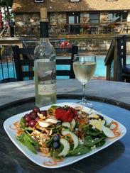 The bistro at the winery offers a variety of fare from