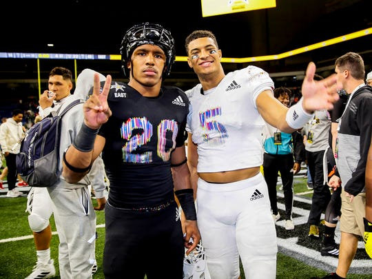 Nick Cross (20) is one of the top safety prospects in the nation. Though he's been verbally committed to Florida State, the Maryland resident is planning a recruiting visit to Penn State this month. Will he sign with the Lions by Feb. 6?