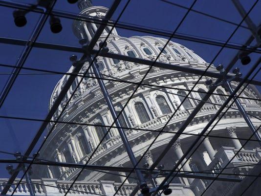 AP SPENDING SHOWDOWN A USA DC