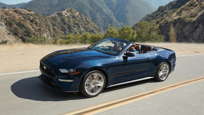 It's easy to admire the EcoBoost's engineering once you put the top down.
