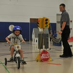 Bicycle rules taught at Safety Town