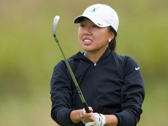 North girls' golfer Katelyn Le