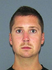 Ray Tensing's mugshot after being booked into the Justice