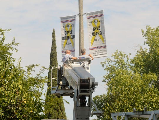 The Brave Project Visalia honored nine men and women