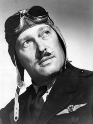 Roscoe Turner, actor and speed flyer and two time winner