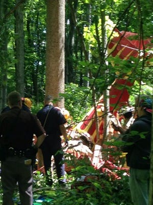 The pilot of a small aircraft was injured during a plane crash Wednesday in Batesville, Indiana.