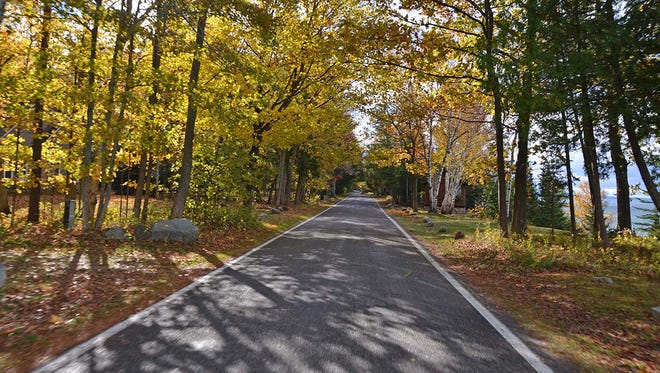 Is M-119 the most scenic fall color spot in Michigan?