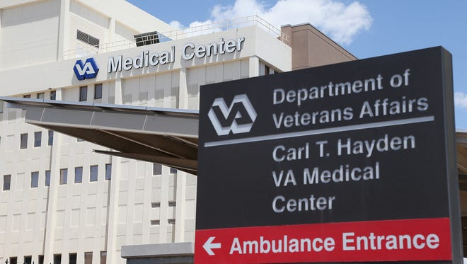 The Veterans Affairs Medical Center in Phoenix on May 8, 2014.