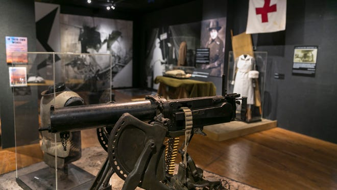 """A new exhibit at the Wisconsin Veterans Museum titled """"WWI Beyond the Trenches: Stories from the Front"""" will be on display for two years."""