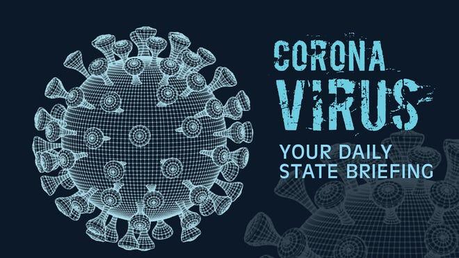 Coronavirus graphic.
