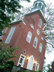 The Rose Rent ceremony for Zion Reformed United Church of Christ will be on Father's Day Sunday, June 19.