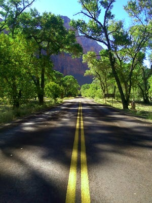 A photo by Beaver Dam High School student Jasmine Fragoza from her photography class' recent trip to Zion National Park in Utah.