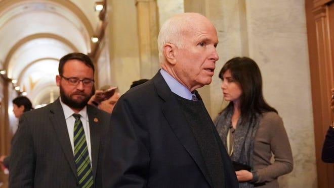 U.S. Sen. John McCain, R-Ariz.