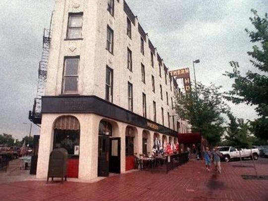 The Northern Hotel as it was in April 1998 before renovations began to turn it into affordable housing for seniors.