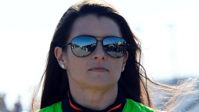 Danica Patrick drives for Stewart-Haas Racing, co-owned by Tony Stewart.