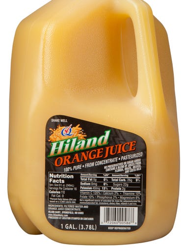 Hiland Dairy on Friday announced a voluntary recall