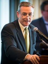 Rep. Glen Casada, R-Franklin, speaks before the House