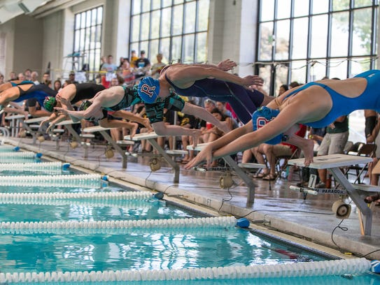 The Northern 3A /4A swimming and diving championships
