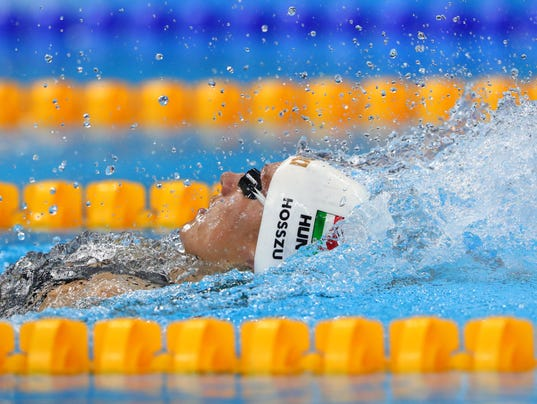 Katinka Hosszu shatters world record in 400 IM; Maya DiRado wins silver
