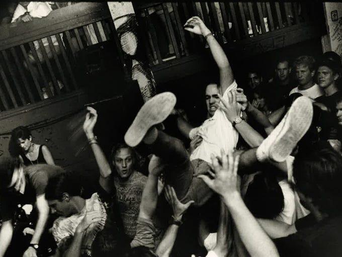 Pensacola's punk scene in the 1990s.