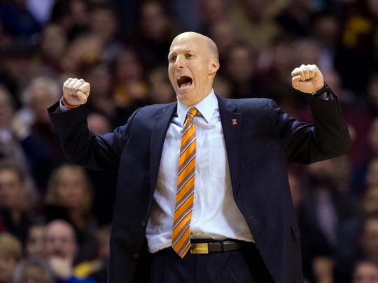 Entering his fifth season in Champaign, Illinois coach