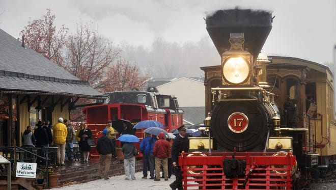 Steam Into History hopes to travel into downtown York within a couple of years, said D. Reed Anderson, president of the board. A $3.8 million capital campaign is underway to help raise money in part to repair the track between Hanover Junction and York.