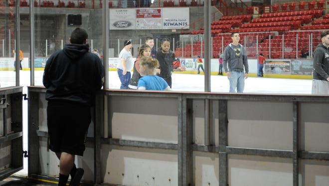 Head to Kay Yeager Coliseum for open ice skating Jan. 8.